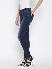 Levis Women Navy Skinny Jeans 711