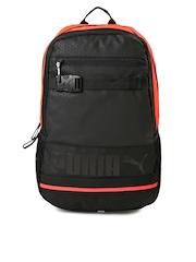 PUMA Unisex Black Deck Backpack