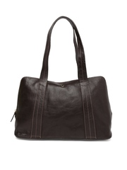 Hidesign Brown Leather Shoulder Bag