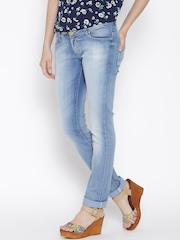 Numero Uno Women Blue Skinny Fit Low-Rise Clean Look Jeans