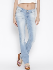 Numero Uno Women Blue Bootcut Fit Clean Look Jeans