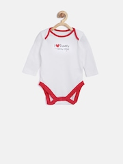 mothercare Kids Pack of 5 Printed Bodysuits