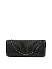DressBerry Black Shimmery Clutch