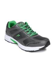 FILA Men Charcoal Grey Kuba Lite Running Shoes