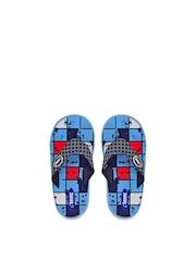 Beanz Boys Blue Printed Flip-Flops