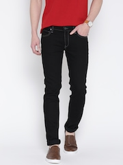 Lee Men Black Skinny Fit Jeans