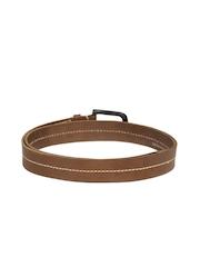 WAC by Wrangler Men Brown Genuine Leather Belt