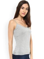 Label Ritu Kumar Grey Melange Camisole CMYHVL40S00N11583623