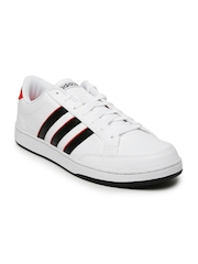 Adidas NEO Men White Courtset Sneakers