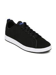 Adidas NEO Men Black Advantage Clean Sneakers