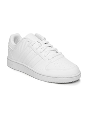 Adidas NEO Women White Hoopster Sneakers