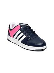 Adidas NEO Women Navy Hoopster Sneakers