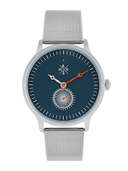 Mast & Harbour Unisex Teal Blue Analogue Watch MFB-PN-WTH-S9538-1