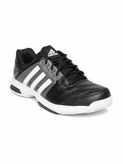 Adidas Unisex Black Barricade Approach Tennis Shoes