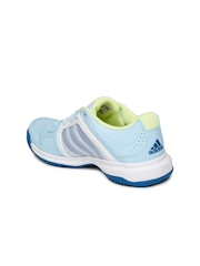 Adidas Women Blue Tennis Shoes