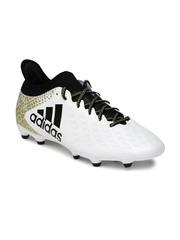 Adidas Men White X 16.3 FG Football Shoes