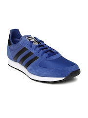 Adidas Originals Men Navy Blue ZX RACER Sneakers