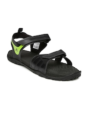 Adidas Men Black ESCAPE 2.0 MS Sports Sandals
