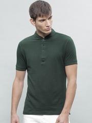 ether Men Green Striped T-Shirt