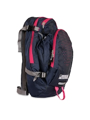 Woodland Unisex Navy & Pink Backpack