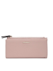 Mast & Harbour Women Pink Textured Wallet