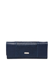 Lavie Women Navy Interwoven Wallet