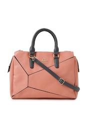 Lavie Peach-Coloured Handbag