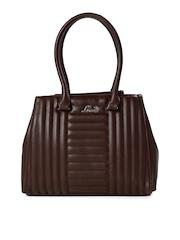 Lavie Brown Quilted Shoulder Bag