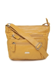 Lavie Mustard Yellow Sling Bag