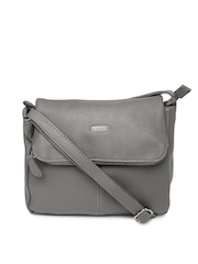 Buy Lavie Grey Sling Bag - Handbags for Women | Myntra