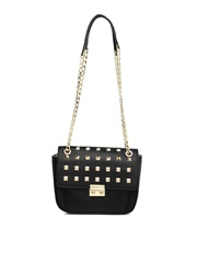 Lavie Black Embellished Sling Bag