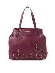 Caprese Burgundy Handbag