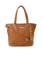 Caprese Brown Gladys Shoulder Bag