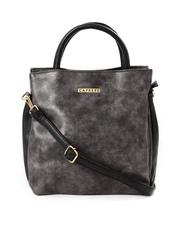 Caprese Charcoal Grey Handbag
