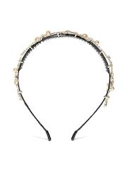 Blueberry Gold-Toned Studded Hairband