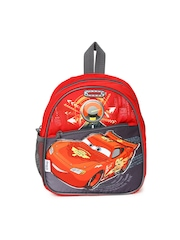 AMERICAN TOURISTER Girls Red & Grey Disney Print Backpack