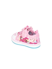 Kittens Girls Pink & Blue Printed Casual Shoes