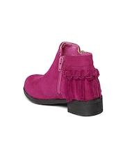 Kittens Girls Magenta Boots