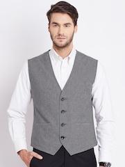Numero Uno Grey Melange Waistcoat