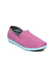 Crocs Women Pink Slip-On Sneakers