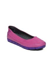 Crocs Women Pink Flat Shoes