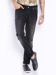 Breakbounce Black Slim Fit Jeans