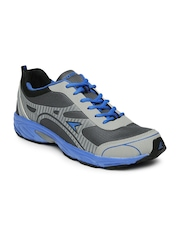 Power Men Grey Elite Running Shoes