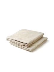 ELLE DECOR Set of 2 Cream-Coloured Cotton 625 GSM Hand Towels