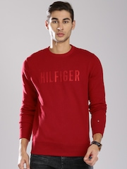 Tommy Hilfiger Red Sweatshirt