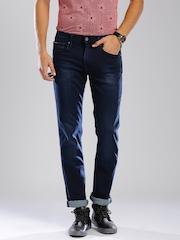 Tommy Hilfiger Men Blue Straight Fit Jeans