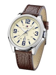 Tommy Hilfiger Men Dial Cream-Coloured Analogue Watch TH1791207J