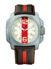Tommy Hilfiger Men Cream-Coloured Dial Watch TH1710201/D
