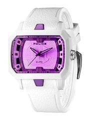 Police Men Purple Dial Analogue Watch PL13838JPW04J