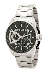 Police Men Black Dial Chronograph Watch PL13648MS02MJ